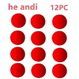 1.75 inch Red Sponge Soft Ball Close-Up Magic Street Classical Comedy Trick Props (12PC)