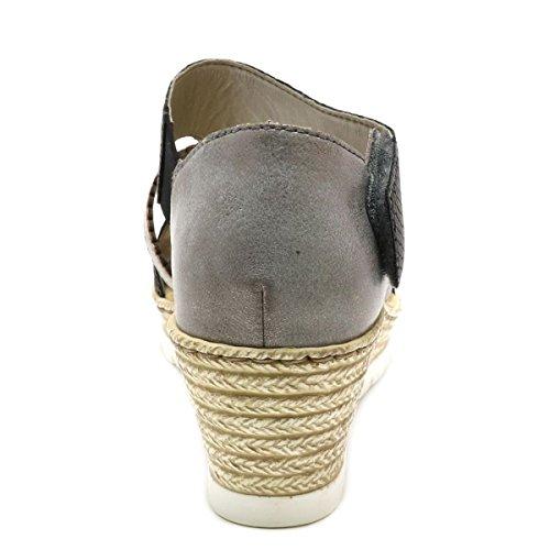 Rieker Donna Grigio Sneaker Sneaker Rieker 11wTxrq0