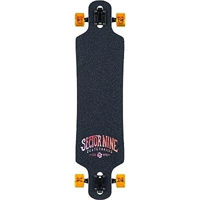 Sector 9 Meridian Orange 2016 Complete Longboard Skateboard New : Sports & Outdoors