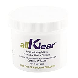 allKlear Draft Line Cleaning Rinse Additive
