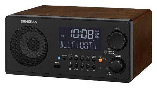 SANGEAN WR22BK /AM/ USB Bluetooth Radio