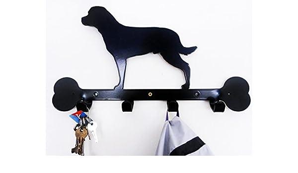 Sityu Rottweiler - Perchero de Pared, diseño de Silueta Correa y ...