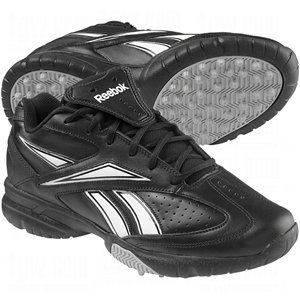 4322729d4593 Reebok Field Magistrate II Turf Baseball Football Umpire Shoes 4E Extra  Wide Black White