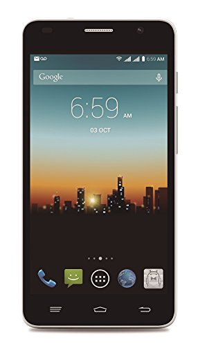 """POSH MOBILE KICK PRO 4G LTE ANDROID GSM UNLOCKED DUAL SIM 5.0"""" HD SMARTPHONE with SLIM 8.6MM design, FULL-sized HD display, 8MP Camera and 8GB of Storage. 1 Year warranty. (Model#: L520 WHITE)"""