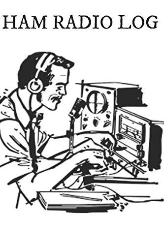 HAM Radio Log: Notepad Notebook Contact and Log Book ()