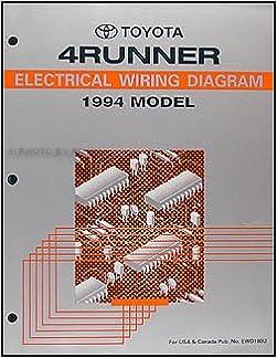 1994 Toyota 4Runner Wiring Diagram Manual Original: Toyota: Amazon.com:  Books | 1994 Toyota 4runner Wiring Diagram Manual Original |  | Amazon.com