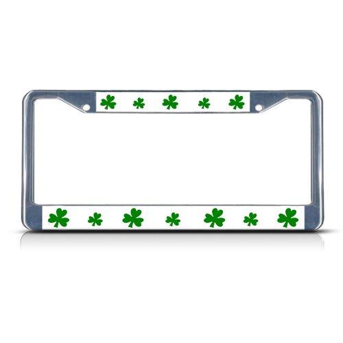 license plate frame shamrock - 1