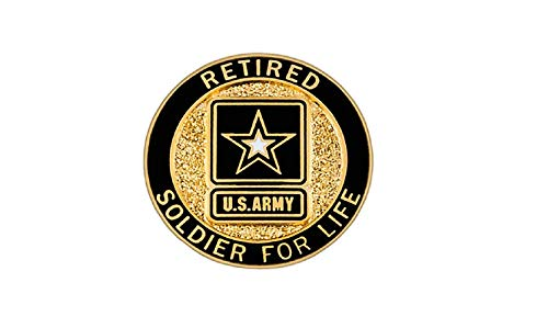 (Soldier for Life, Retired LAPEL PIN)