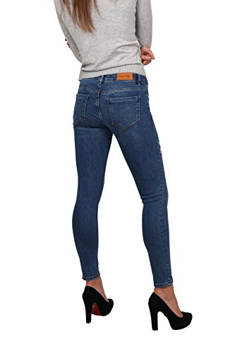 Femme Skinny Jean Rogen LB022 Bleu Pild qtvx8