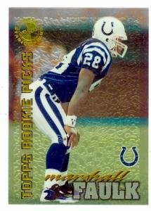 Marshall Faulk Football Card 1995 Topps Members Only 50 Colts Rams Legend Rookie Card