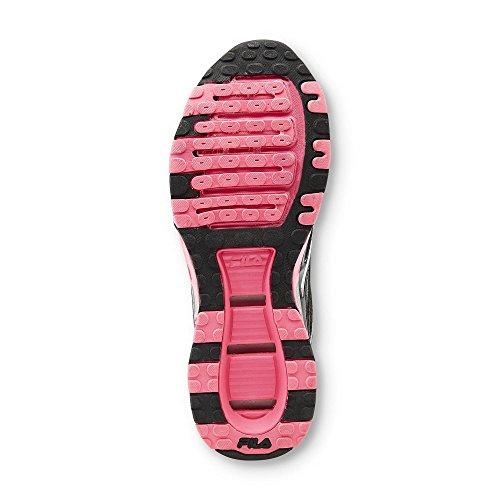 Zapato De Entrenamiento Cruzado Fila Mujeres Veil Negro / Rosa / Gris