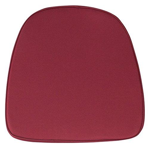 Flash Furniture Soft Burgundy Fabric Chiavari Chair ()