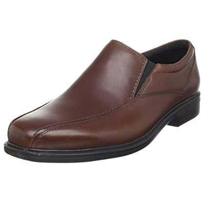 Bostonian Men's Bolton Dress Slip-On,Brown Leather,10 W US
