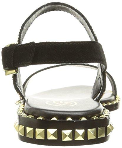 Sandalo Nero Sandali Donna Cenere