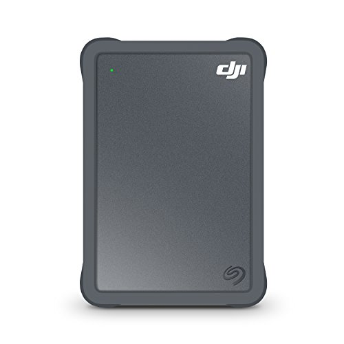 Seagate DJI Fly Drive for Drone Footage - Portable Drive with Micro SD Card Slot and USB-C to USB-C cable (STGH2000400) by Seagate