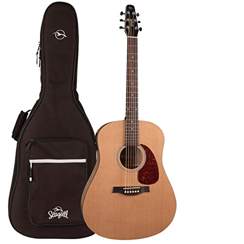 Seagull S6 Classic M-450T Acoustic-Electric Guitar with Seagull Padded Dreadnought Gig Bag