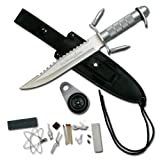 Survivor 14-Inch Overall Survival Stainless Steel Knife, Outdoor Stuffs