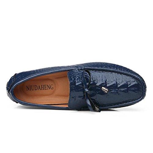 Miyoopark - zapatilla baja hombre azul oscuro