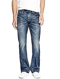 GUESS Factory Regular Bootcut Jeans