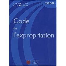CODE DE L'EXPROPRIATION 2008
