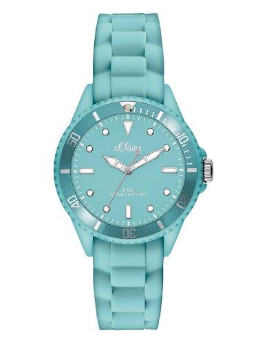 s.Oliver Women's Quartz Watch SO-2750-PQ with Plastic Strap