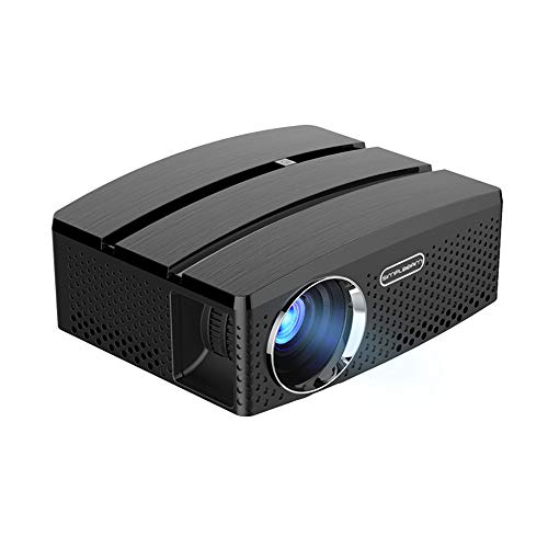 ZYG.GG WiFi Projector Android Bluetooth LCD LED Smart ProjectorsFull HD 1080P Support Wireless HDMI USB RCA Audio VGA for Indoor Outdoor Movies Games Sports Slideshows from ZYG.GG