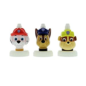 good2grow spill-proof bottle toppers 3-pack, Paw Patrol- Marshall, Chase & Rubble