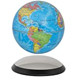 6'' Magnetic Rotating Globe Anti-Gravity Floating Levitating Earth (Glossy Finish)