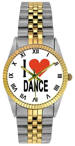 Music Treasures Rolex Like I Love Dance Watch by Music Treasures Co.