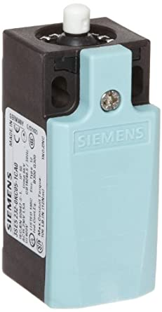 Siemens 3SE5 232-0KC05-1CA0 Mechanical Position Switch, Complete Unit, Plastic Enclosure, 31mm Width, Rounded Plunger, Increased Corrosion Protection, Slow Action Contacts, 1 NO + 2 NC Contacts