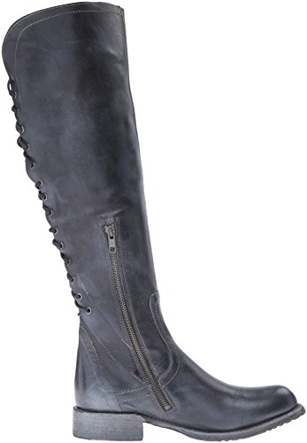 Blue Women's Rustic Boot Stu Bed Black Surrey qCzxAq4Y
