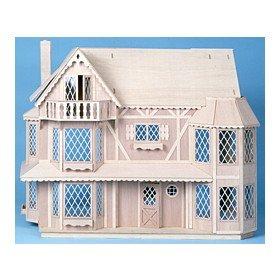 Corona Dollhouse Kit (Greenleaf Corona Concepts The Harrison Dollhouse Kit - Greenleaf)
