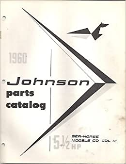 1960 johnson outboard seahorse 5 12 hp cd parts manual 1960 johnson outboard seahorse 5 12 hp cd parts manual manufacturer amazon books fandeluxe Image collections
