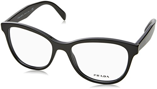 Prada Women's PR 12TV Eyeglasses Black - Frame Prada