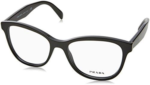 Prada Women's PR 12TV Eyeglasses Black - Prada Frame