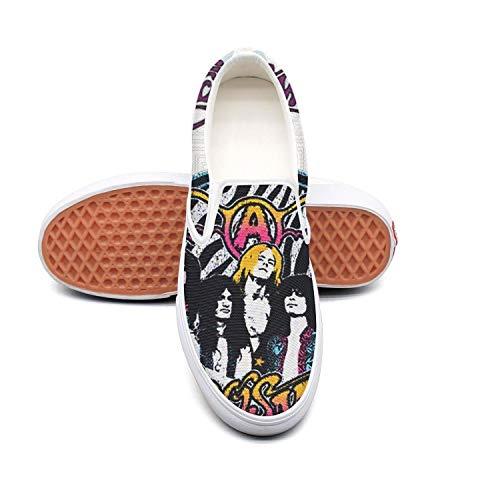 NI kingss Women Slip on Classic Casual Shoes Spring Flat Skate Shoe