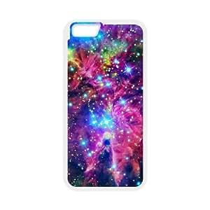 iPhone 6 Plus 5.5 Inch Cell Phone Case White Space Nebula vpye