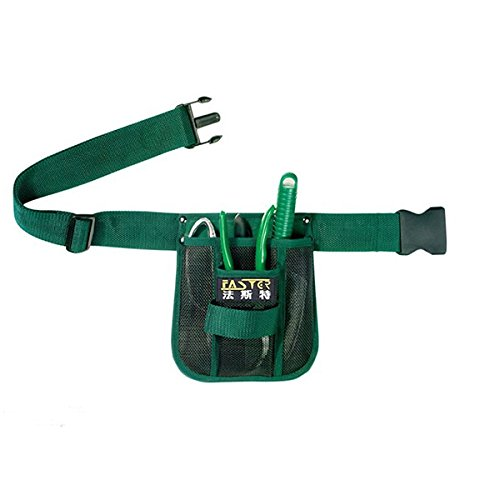 Fasite Garden Tool Kit Bag Gardening Waist Bag Hanging Pouch