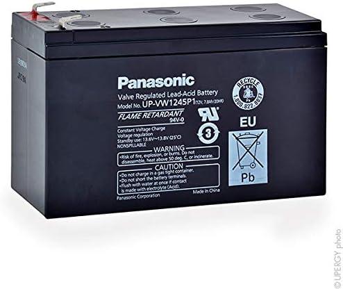 Panasonic - Batería SAI UP-VW1245P1 FR 12V 8Ah F6.35: Amazon.es: Coche y moto