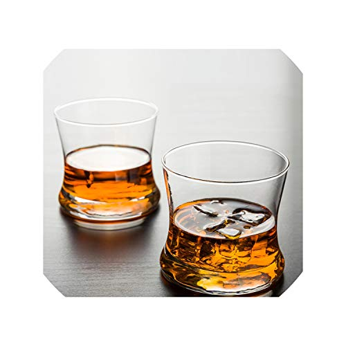 (Whisky Tumbler Beer Chivas Regal Wine Glass Crystal Slender Waist Curve Tango Whiskeys Cups,Tango Cup)