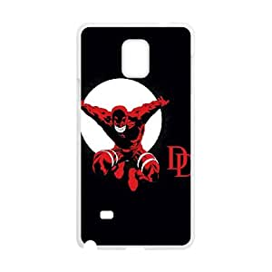 Samsung Galaxy Note 4 Cell Phone Case White Daredevil Leaps JNR2031576