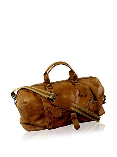Große Reisetasche aus echtem Leder Ledertasche Tasche Reisegepäck