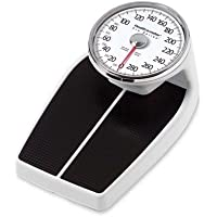 "Health O Meter 160lbs. Mechanical Floor Scale, 400 lb. Capacity, 12-1/2"" x 11"" x 3"" Platform"