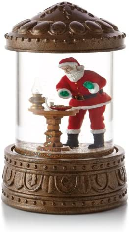 Hallmark Dear Santa Snow Globe