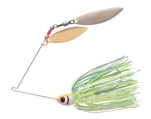 - BOOYAH Blade - Double Willow Blade - Citrus Shad - 3/8 oz