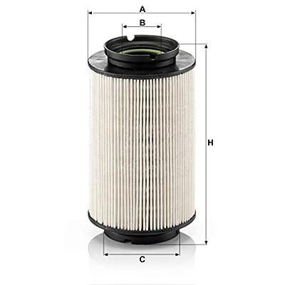 Mann-Filter PU 936/2 X Metal-Free Fuel Filter: Automotive
