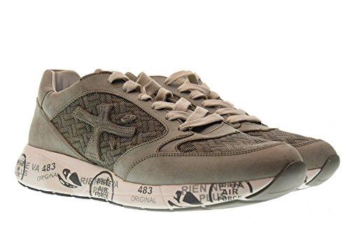 PREMIATA Scarpe Uomo Sneakers Basse Zac-Zac 2850 Grigio Venta Barata De Precio Bajo Venta Bajo Precio Envío Libre De Muchos Tipos De Comprar Barato Footaction 7W6ze