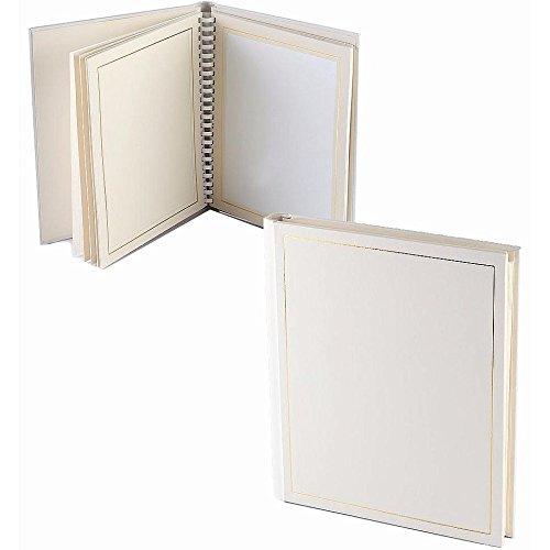 Professional PARADE white/gold slip-in mat photo album for 20 5x7 prints TAP® - 5x7 101732001