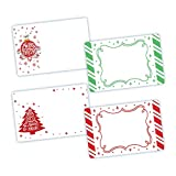 Avery Assorted Sparkle Holiday Labels, 3\