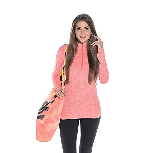 (Nike Women's Dri-fit Knit Half Zip Running Top 588534-646 SMALL)